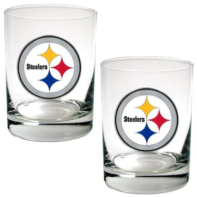Great American Pittsburgh Steelers Glass Set At Lowes Com
