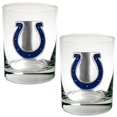Great American Indianapolis Colts Glass Set At Lowes Com