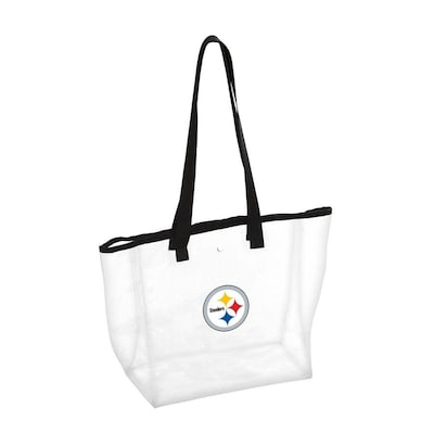 meet 0d877 7eade Logo Brands Pittsburgh Steelers Clear Tote at Lowes.com