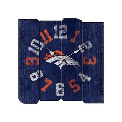 huge selection of 428aa 24ce9 Imperial International Denver Broncos NFL Vintage Clock ...