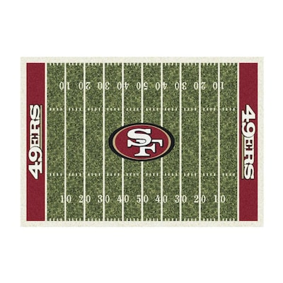 finest selection 80de2 feaee Imperial International San Francisco 49ers Home Field Rug ...
