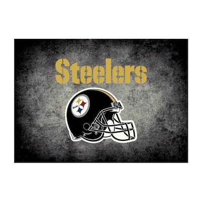 Pittsburgh Steelers Area Rugs Mats At Lowes Com