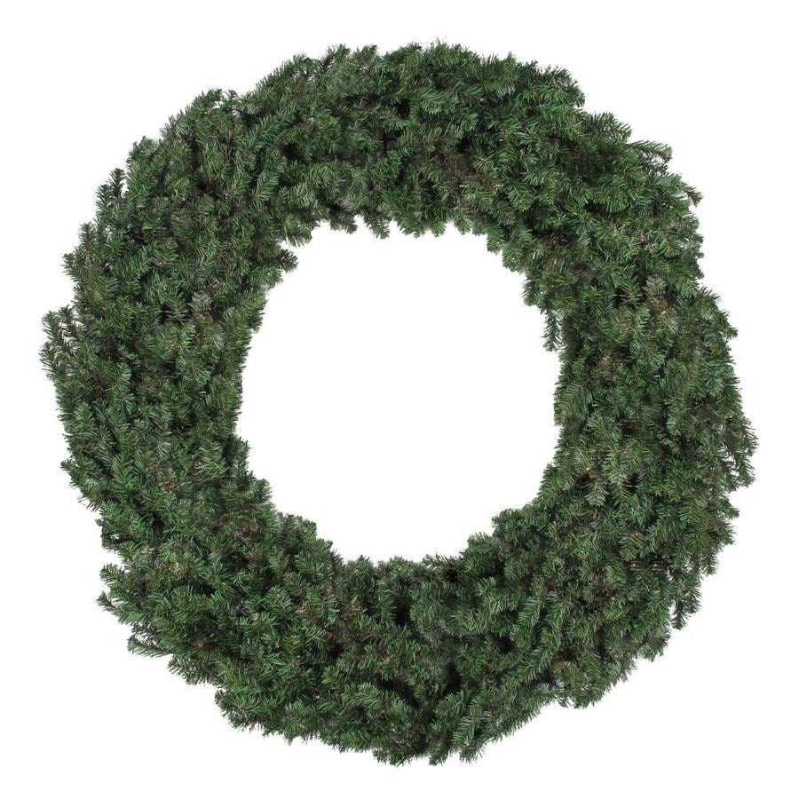 Northlight 96-in Green Canadian Pine Artificial Christmas Wreath at