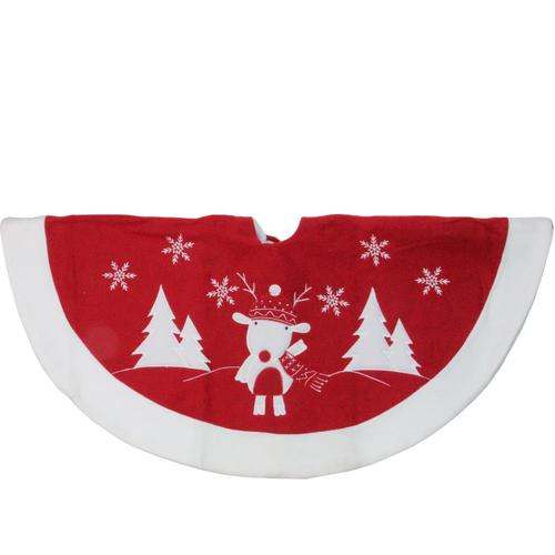 Lowes Christmas Tree Skirts: Northlight 46-in White Christmas Tree Skirt At Lowes.com