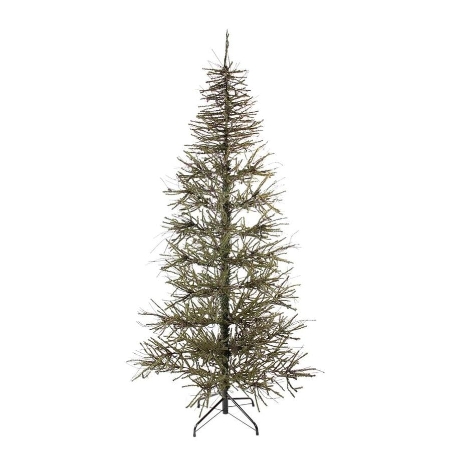 Northlight 84 Ft Twig Slim Upside Down Artificial Christmas Tree At