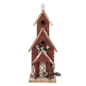 Glitzhome Bird Houses Pedestals At Lowes Com