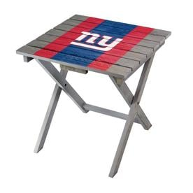 Pleasing New York Giants Folding Tables Chairs At Lowes Com Ocoug Best Dining Table And Chair Ideas Images Ocougorg