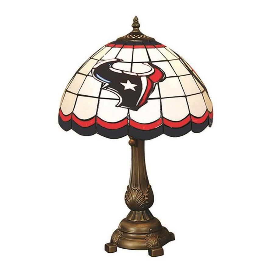 The Memory Company Houston Texans Tiffany Lamp 19 5 In Bronze Table