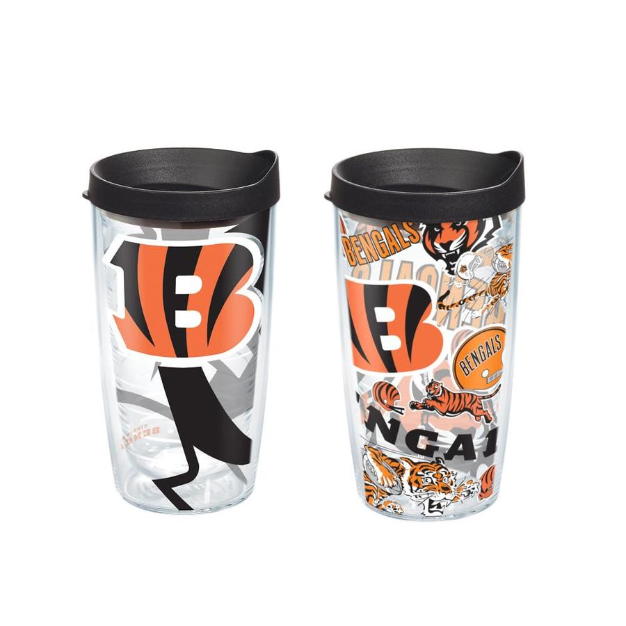 07c29f42 Tervis Cincinnati Bengals NFL 16-fl oz Plastic Travel Mug at Lowes.com