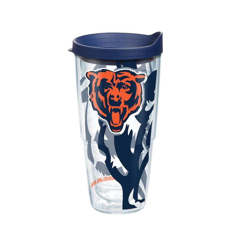 12f1144f Tervis Chicago Bears NFL 24-fl oz Plastic Travel Mug at Lowes.com