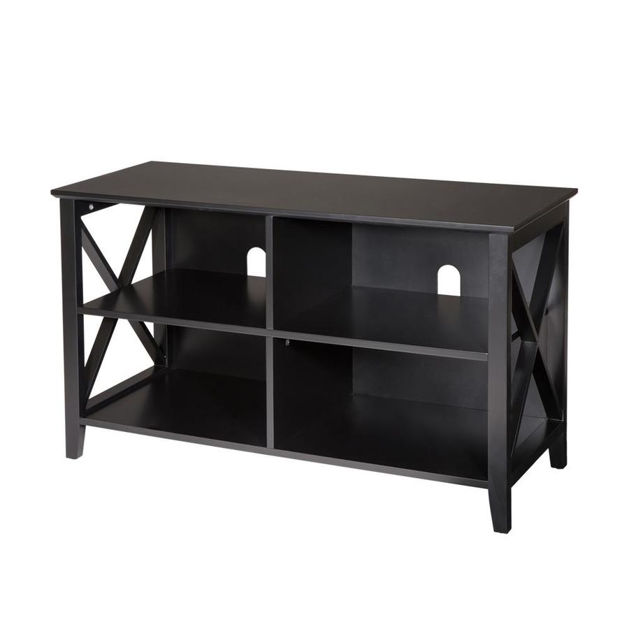 Glitzhome Black Modern Console Table at Lowes.com