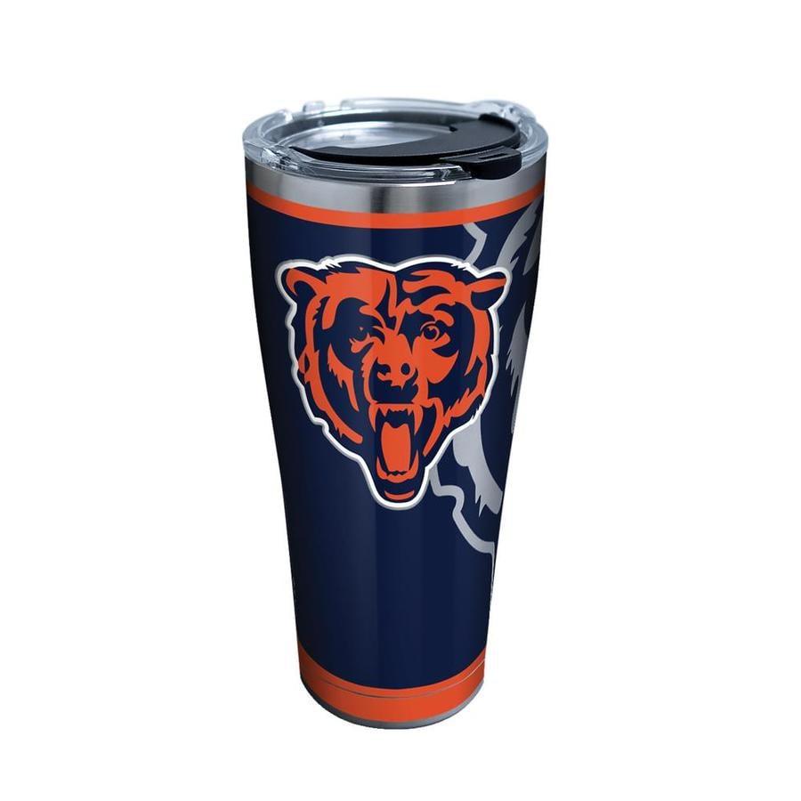 81f0e83d Tervis Chicago Bears NFL 30-fl oz Stainless Steel Travel Mug at ...