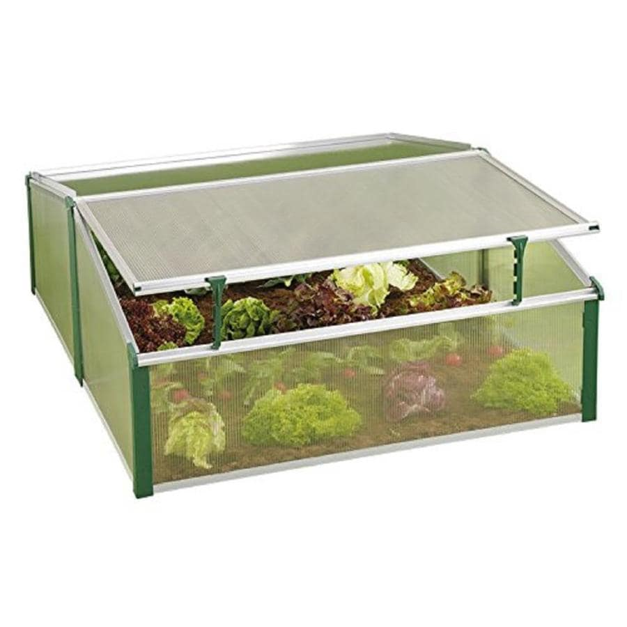 Juwel Easy Fix Double Cold Frame 48 Ft L X 40 Ft W X 17 Ft H Greenhouse Kit Greenhouse In The Greenhouses Department At Lowes Com