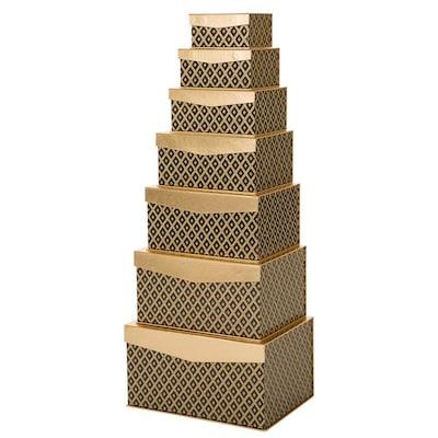 Glitzhome 7 Piece Gift Box Set by Lowe's