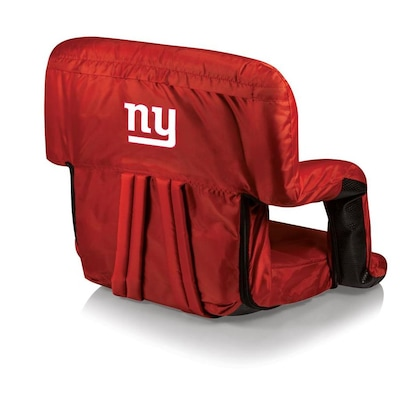 Wondrous Picnic Time New York Giants Red Metal Padded Polyester Ocoug Best Dining Table And Chair Ideas Images Ocougorg