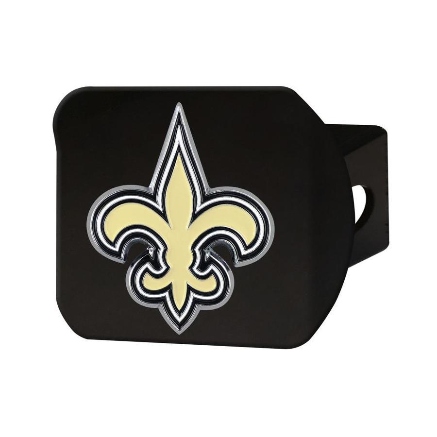 Rico Industries NFL New Orleans Saints Chrome Finished Auto Emblem 3D Sticker