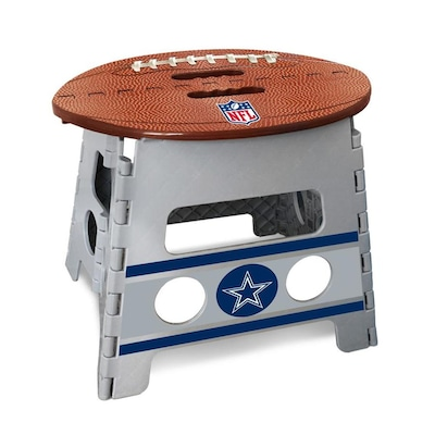 Cool Fanmats Nfl Dallas Cowboys Folding Step Stool 1 Step 13 In Pabps2019 Chair Design Images Pabps2019Com