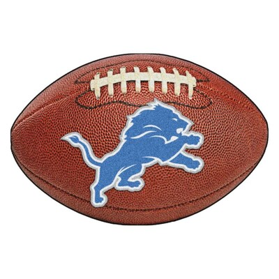 Awesome Fanmats Nfl Detroit Lions Photo Realistic Football Mat 20 Download Free Architecture Designs Sospemadebymaigaardcom