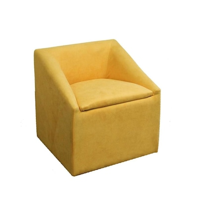 Ore International Modern Yellow Accent Chair At Lowes