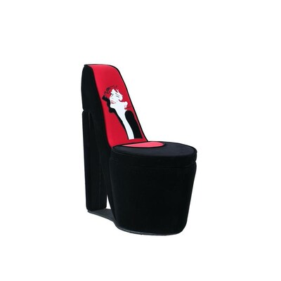Ore International 32 86 In Tall Chair With Storage High