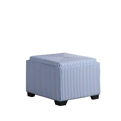 Awe Inspiring Ore International 17 5 In Tall Tufted Storage Ottoman Blue Creativecarmelina Interior Chair Design Creativecarmelinacom