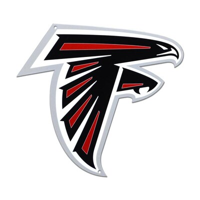 Authentic Street Signs Atlanta Falcons 24-in x 24-in Metal ...