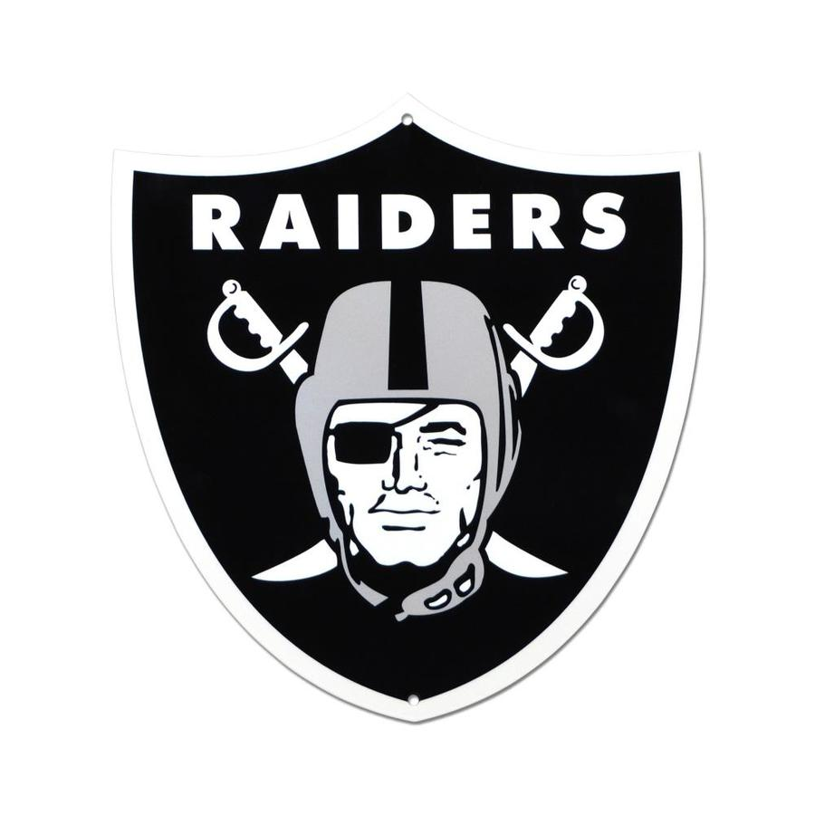 Authentic Street Signs Oakland Raiders 24-in x 24-in Metal Blank Sign in the Signs department at Lowes.com