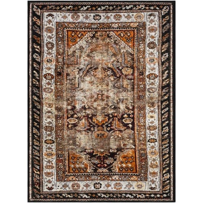 Surya Serapi 3 Ft11 In X 5 Ft7 In Updated Traditional Area Rug