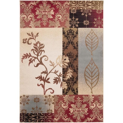 Surya Riley 4 Ft X 5 Ft5 In Transitional Area Rug Tan At