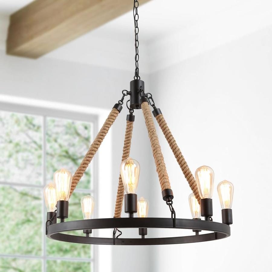 Farmhouse Chandeliers At Lowes Com