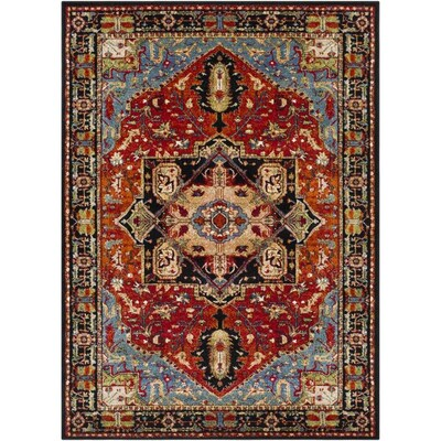 Surya Serapi 9 Ft3 In X 12 Ft6 In Traditional Area Rug Burgundy At