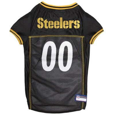 official photos f41f3 0f617 Pets First Pittsburgh Steelers Mesh Jersey LG at Lowes.com