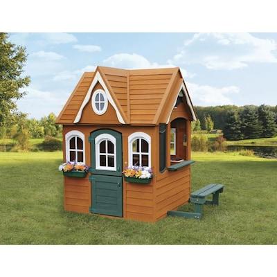 Kidkraft Wood Playhouse Kit At Lowes