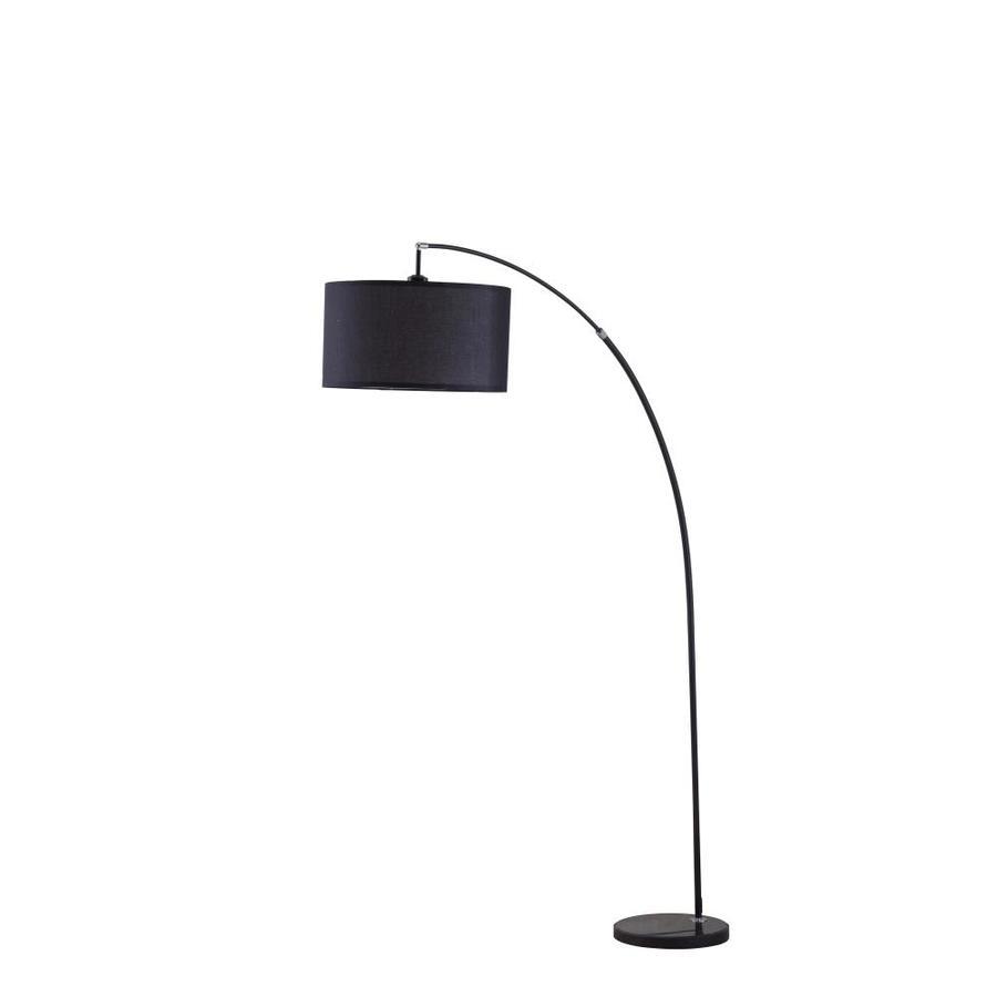 Bella 86 In Black Arc Floor Lamp