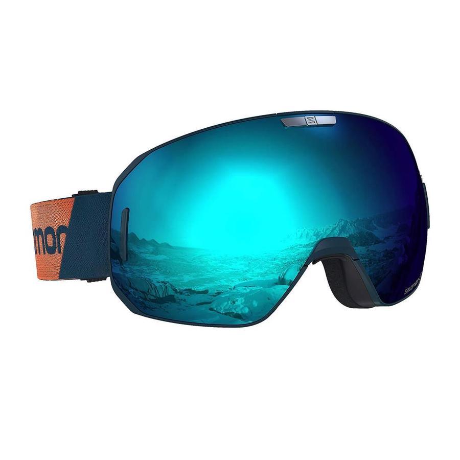 Salomon SMax Skiing Ski Snowboarding Bright Solar Blue