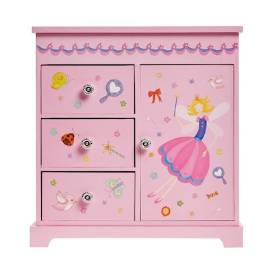 Mele Co Pink Jewelry Box Jewelry Armoire At Lowes Com