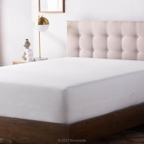 Brookside Polyester Queen Encasement Mattress Cover Bedbug ...