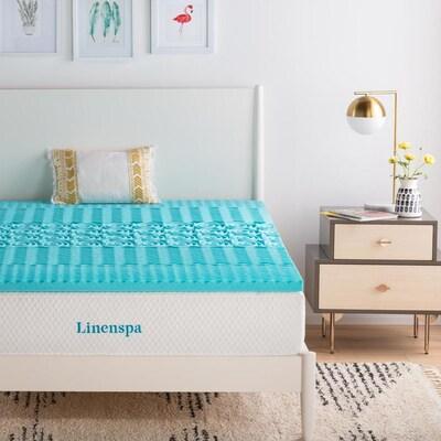 Linenspa Essentials 2 In D Memory Foam California King Mattress