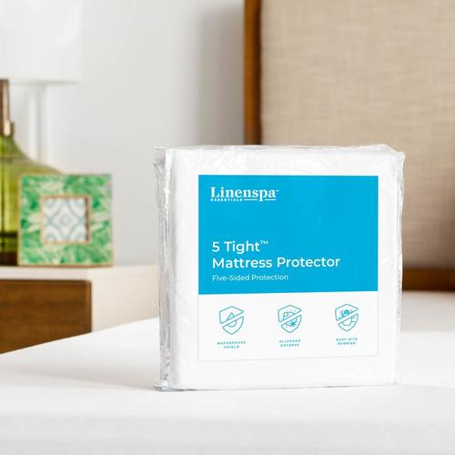 Linenspa Essentials D Polyester King Mattress Cover In The Mattress Covers Toppers Department At Lowes Com