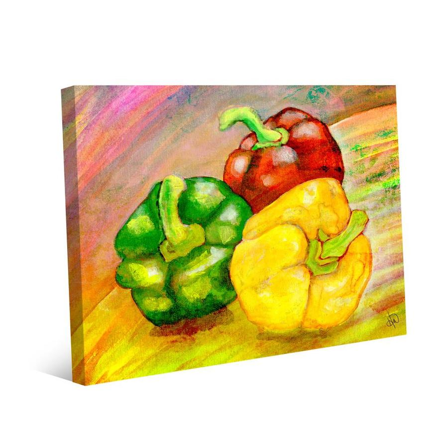 Peppers Bell Pull Wall Hanging Plastic Canvas Pattern Kitchen Decor Pattern