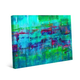Greatbigcanvas Greatbigcanvas Frameless 24 In H X 24 In W Abstract Canvas Painting In The Wall Art Department At Lowes Com