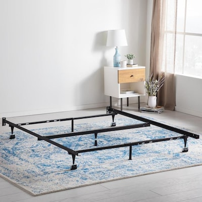 Fabulous Brookside Black Various Size Bed Frame With Wheels Bed At Creativecarmelina Interior Chair Design Creativecarmelinacom
