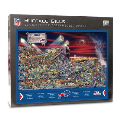 Joe Journeyman Buffalo Bills Joe Journeyman 500-Piece Football Jigsaw Puzzle