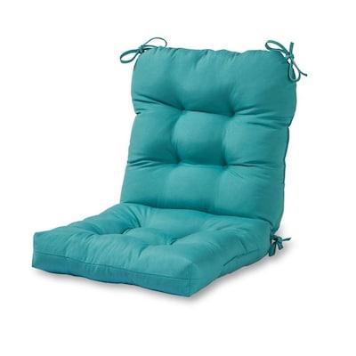 Teal Patio Chair Cushion