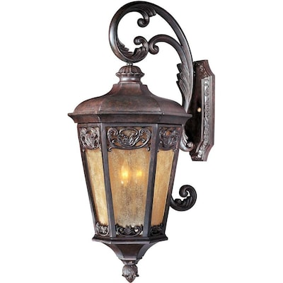 Maxim Lighting Lexington VX 3-Light 13.5-in Wide Colonial ... on colonial lighting fixtures, aluminum outdoor lighting, colonial exterior lighting, colonial reproduction outdoor lighting, colonial outdoor furniture, colonial period lighting, colonial landscape lighting, outdoor sconce lighting, colonial brass outdoor lighting, colonial vanity lighting, antique brass outdoor lighting, colonial porch lights, colonial lantern lighting, colonial floor lamps, antique copper outdoor lighting, colonial style lighting, colonial island lighting, williamsburg outdoor lighting, colonial wall sconces, colonial pendant lighting,