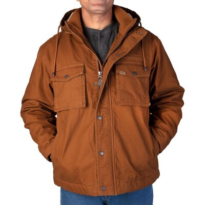 Smiths Workwear Style S5102 Sherpa Lined Duck Canvas Hooded