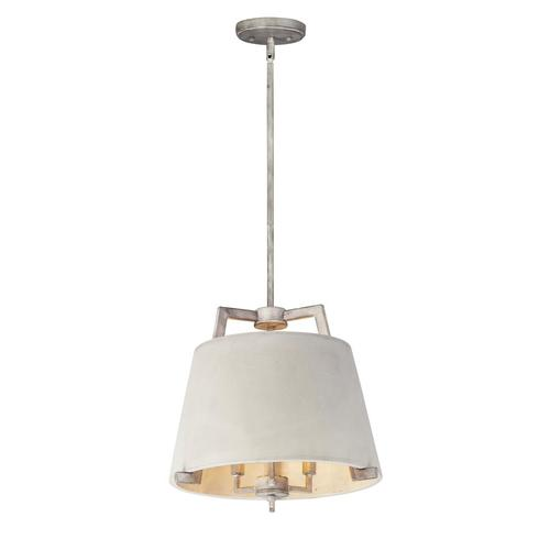 Maxim Lighting Orson Driftwood Transitional Cone Pendant Light In The Pendant Lighting Department At Lowes Com
