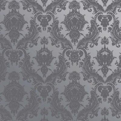 Tempaper Damask Wallpaper At Lowes Com