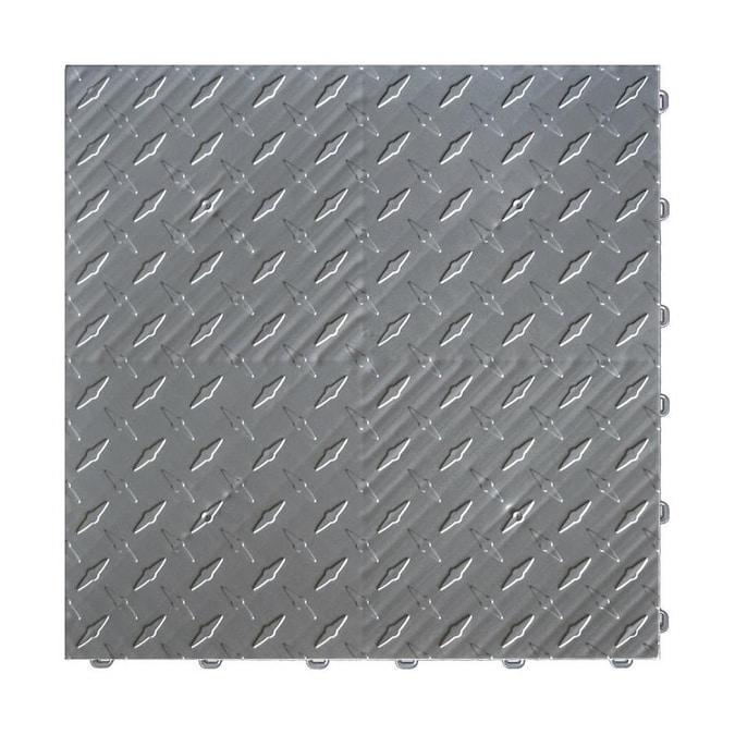 Piece Grey Garage Floor Tile