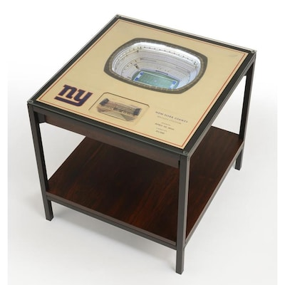 Stadiumviews Multi Color Glass End Table At Lowes Com
